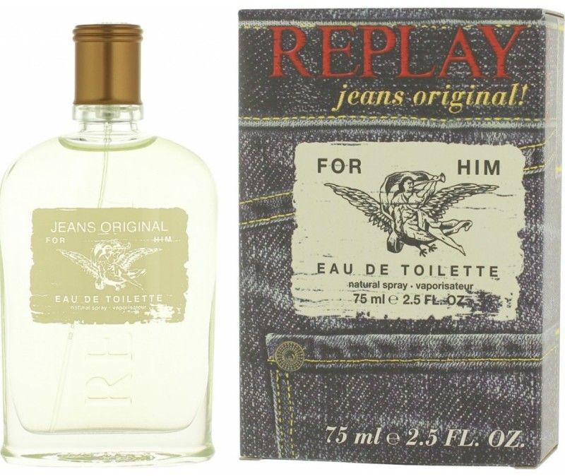 Replay Jeans Original! For Him Woda toaletowa 75 ml