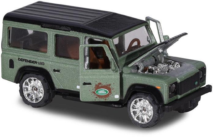 Majorette Deluxe Cars - Land Rover Defender 110 zielony 2053152