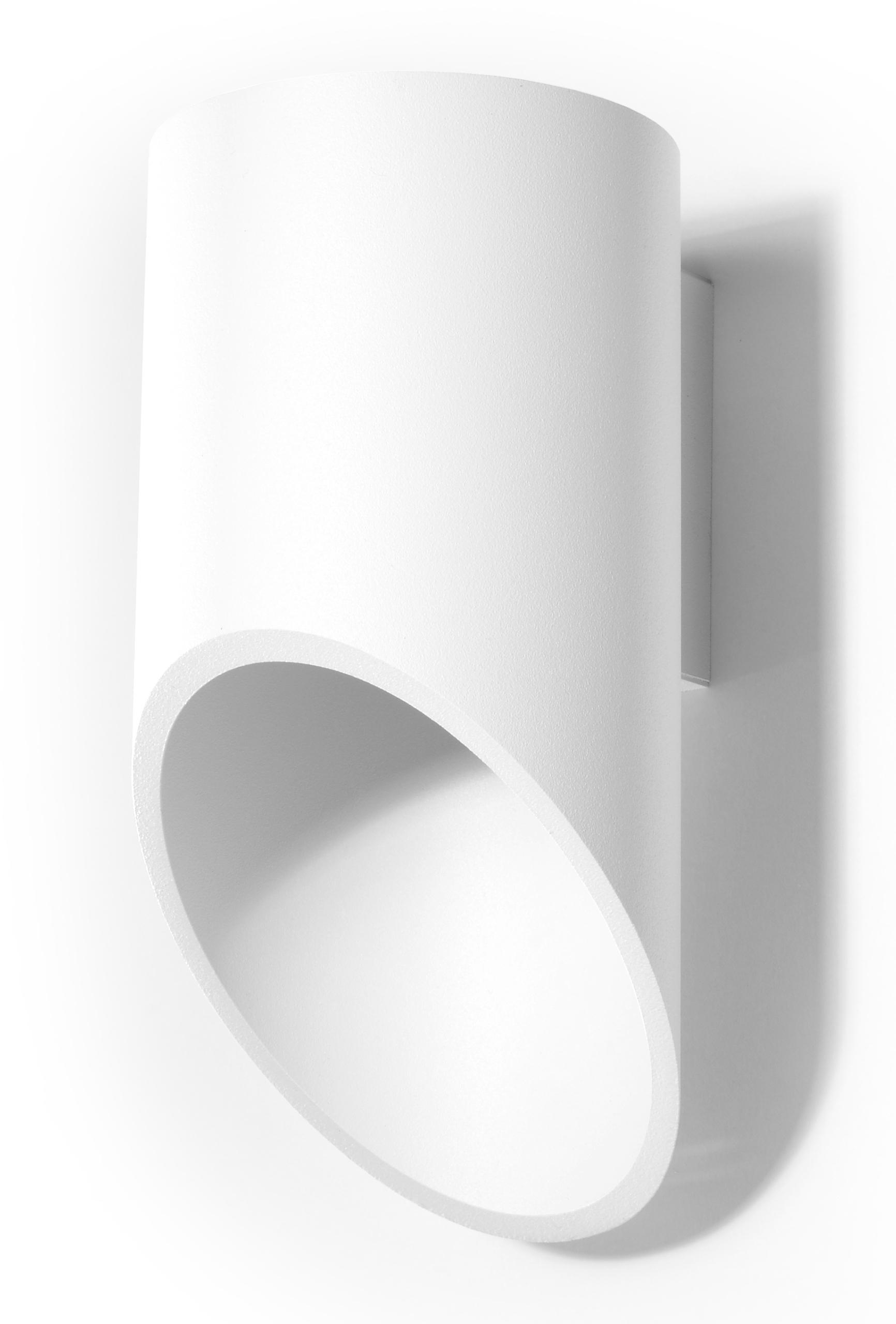 Lampa ścienna PENNE TUBA 20 biały SL.0107 Sollux - Sprawdź MEGA rabaty w koszyku !