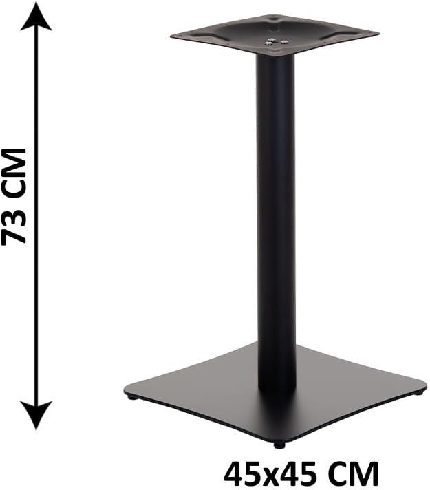 Podstawa stolika SH-3060/B, (stelaż stolika), kolor czarny