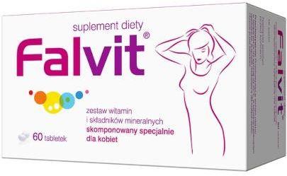 Falvit zestaw witamin i minerałów dla kobiet 60 tabletek