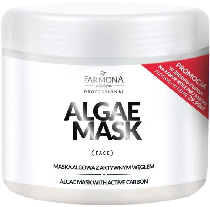 ALGAE MASK Maska Algowa Aktywny węgiel 500ml