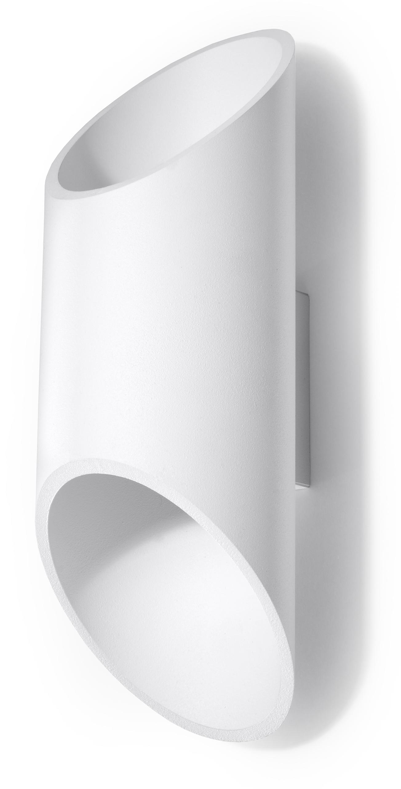 Lampa ścienna PENNE TUBA 30 biały SL.0108 Sollux - Sprawdź MEGA rabaty w koszyku !