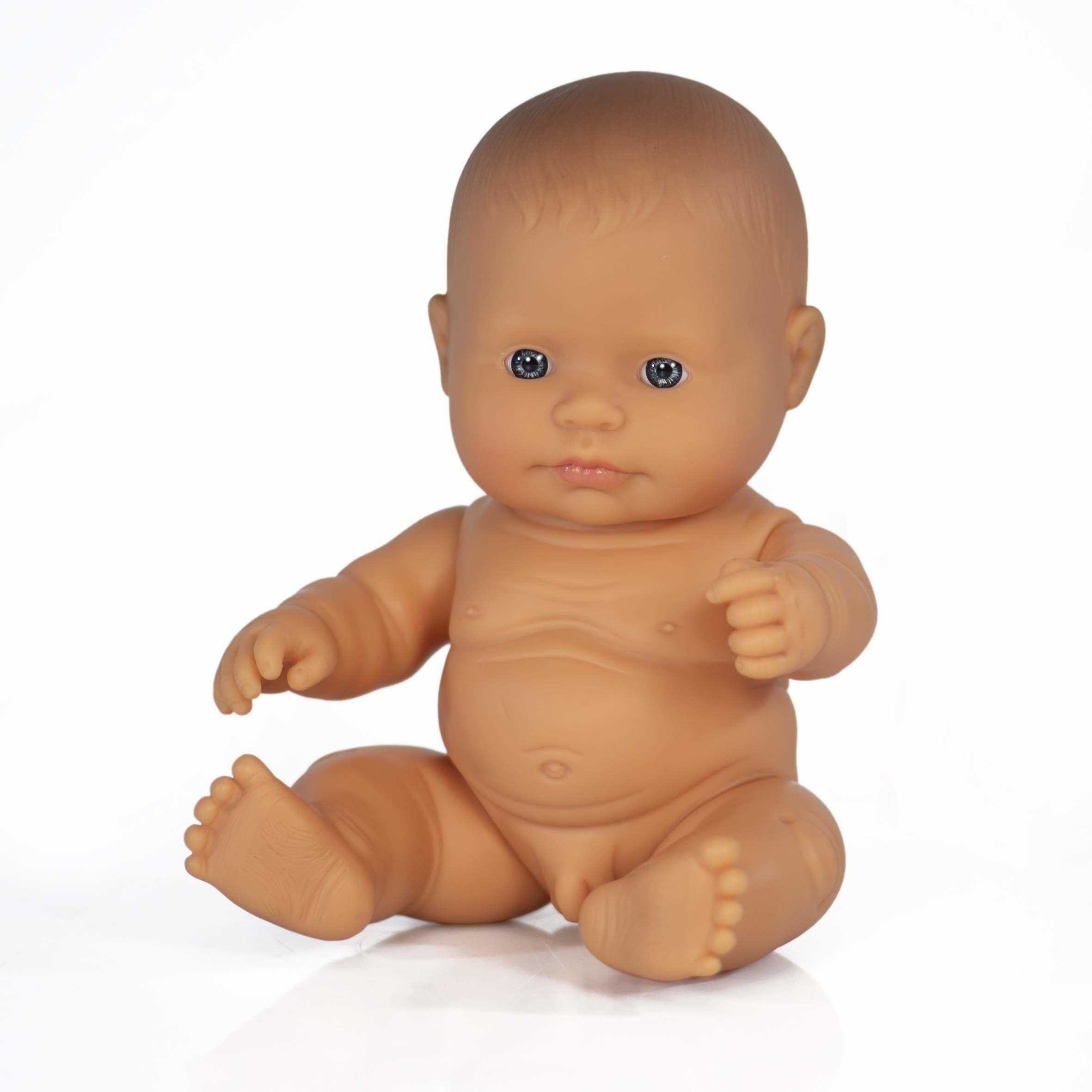Lalka dziecięca chłopiec europejski 21 cm-31141