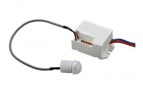 Czujnik ruchu wpuszczany 12-24V DC z zewnętrznym sensorem na podczerwień