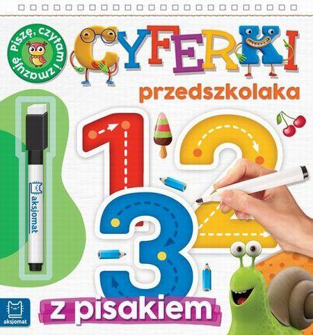Cyferki przedszkolaka 5-6 lat Seria z pisakiem. Piszę, liczę i zmazuję