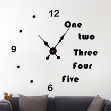 "Zegar ścienny ""zrób to sam"" cichy #17B2 /320mm"