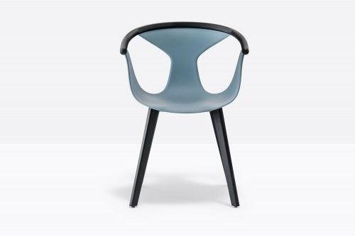 Pedrali Krzesło Fox 3725 Niebieski, Antracyt