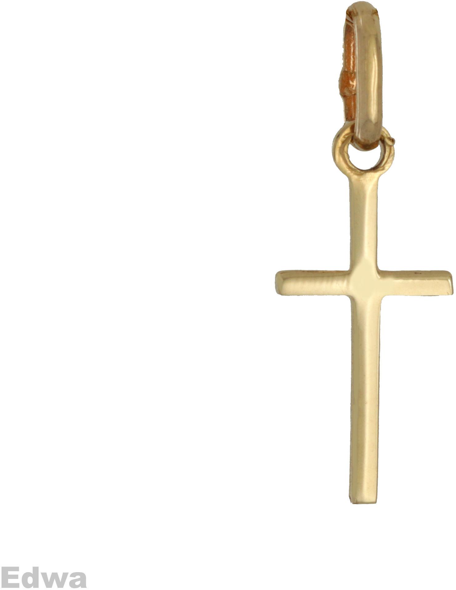 Zawieszka złota Krzyżyk pr.585