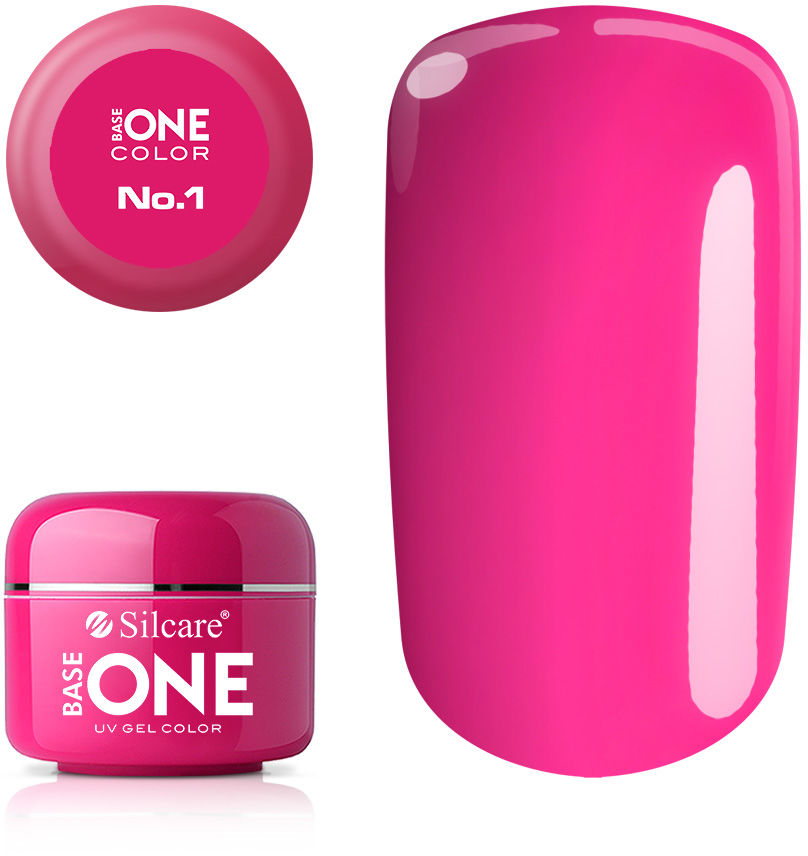 Base One Żel UV Pink No. 1 Magenta 5 g