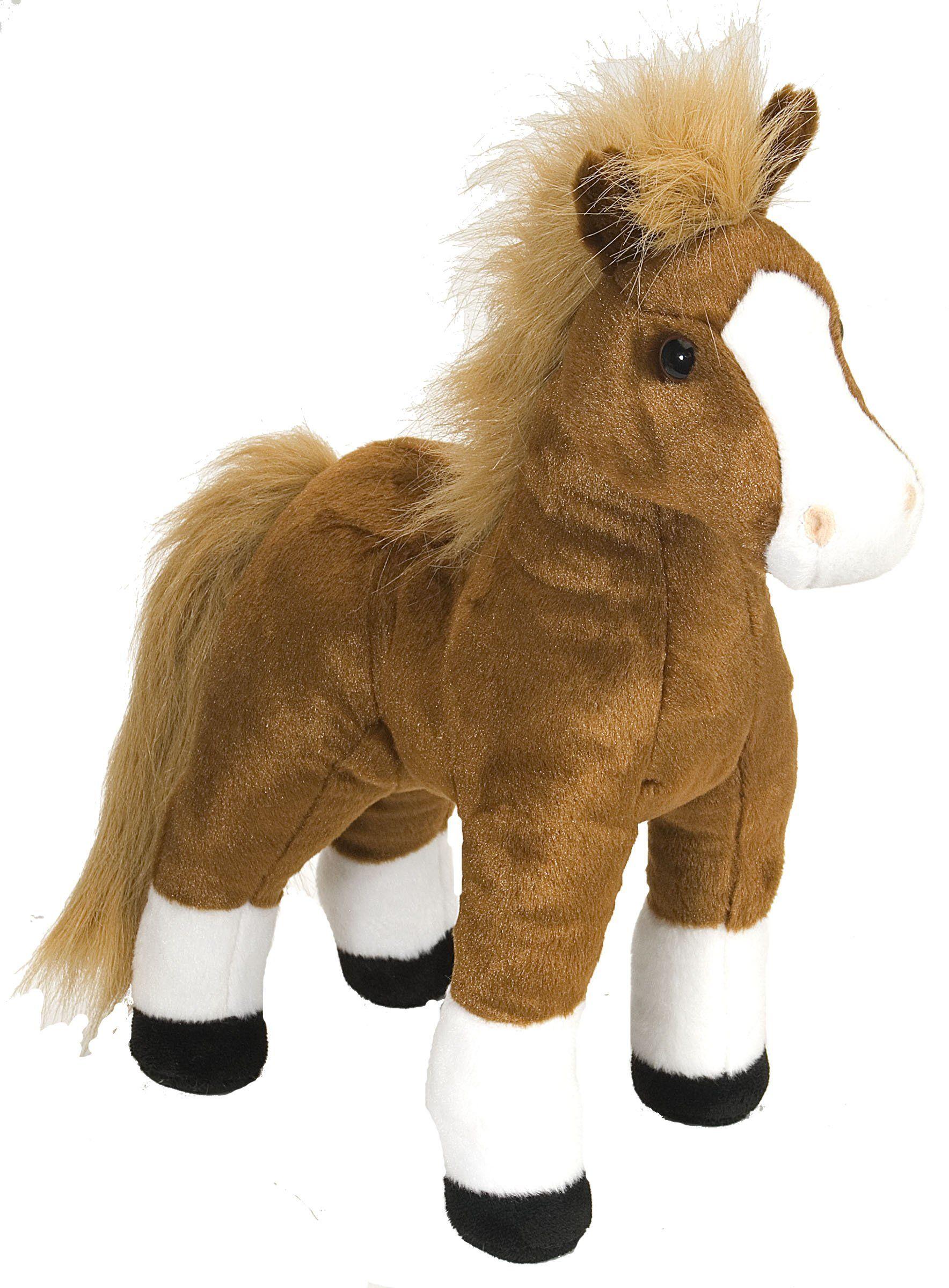 Wild Republic 16994 pluszowy koń, Cuddlekiny, pluszowe zwierzątko, 30 cm