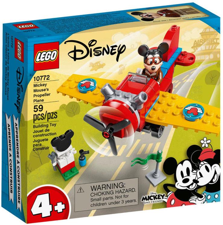 LEGO Mickey and Friends - Samolot śmigłowy Myszki Miki 10772