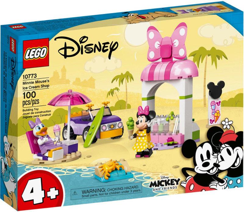 LEGO Mickey and Friends - Sklep z lodami Myszki Minnie 10773