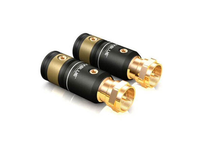 Viablue T6s F-plugs - skręcana