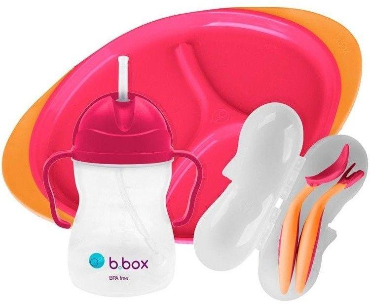 B.Box Zestaw do karmienia, Strawberry Shake
