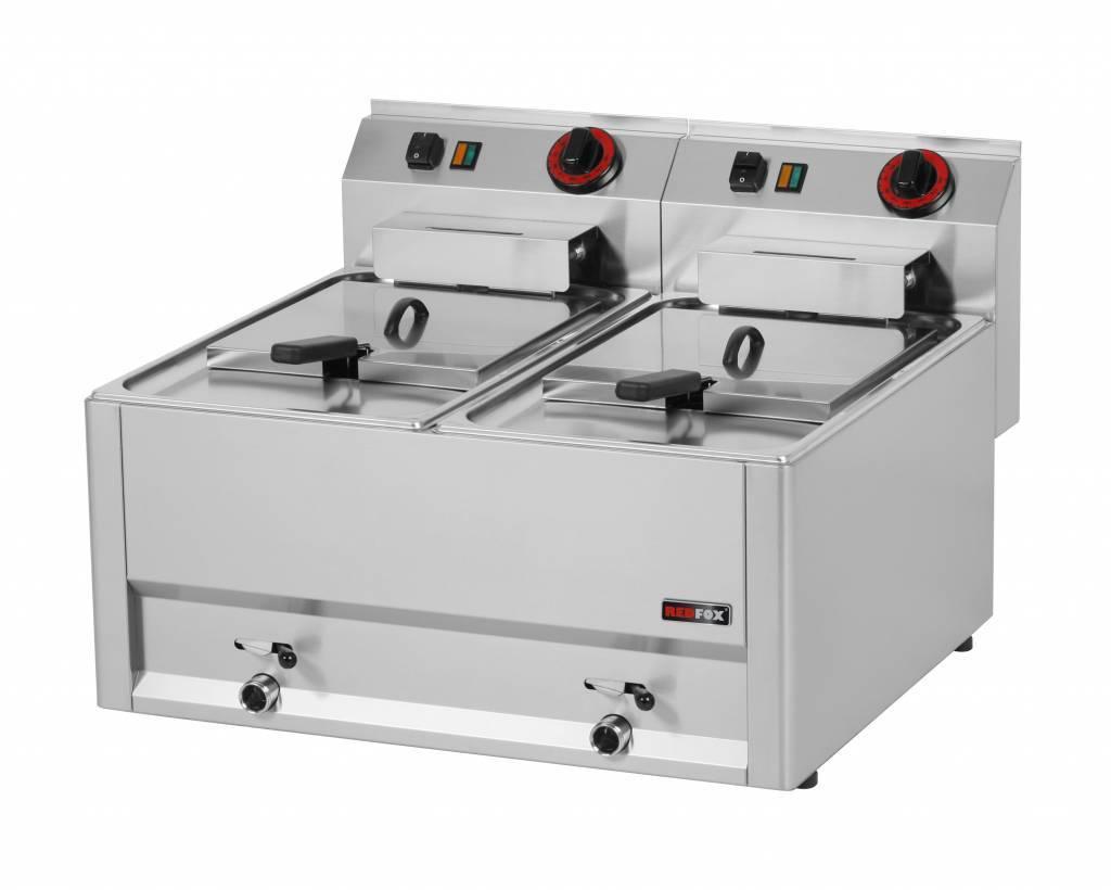 Frytownica elektryczna 2x8L 6000W 660x600x(H)290mm
