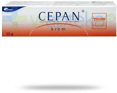 Cepan (20 g + 5 g + 5000 IU + 1 g)/ 100 g krem na blizny 35 g