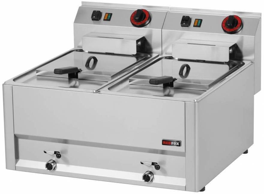 Frytownica elektryczna 2x8L 12000W 660x600x(H)290mm