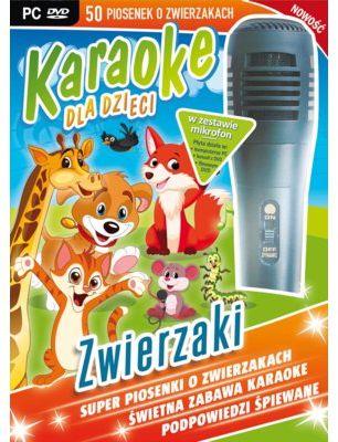 Gra PC Karaoke Dla Dzieci: Zwierzaki + Mikrofon. > DARMOWA DOSTAWA ODBIÓR W 29 MIN DOGODNE RATY