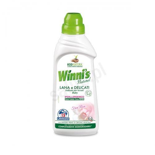 Winni''s Lana e Delicati - hipoalergiczny płyn do prania kaszmiru, jedwabiu i wełny (750 ml - 15 p.)