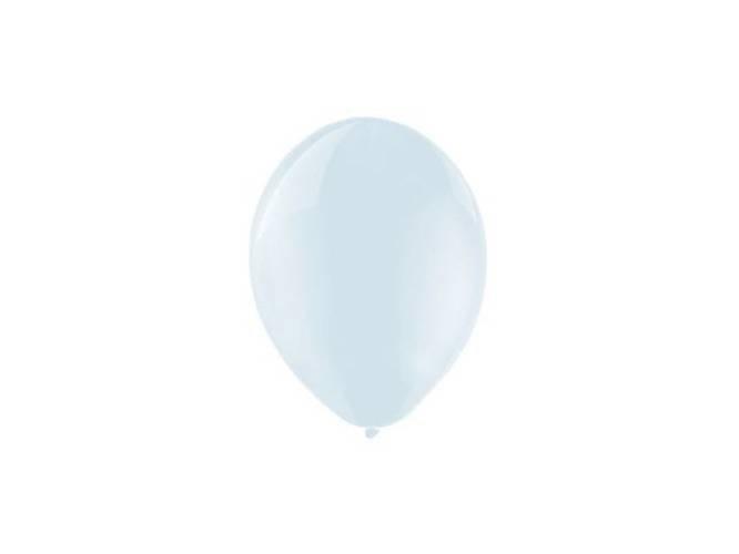 Balony lateksowe średnie krystaliczne - 10 cali - clear/przezroczysty - 100 szt.