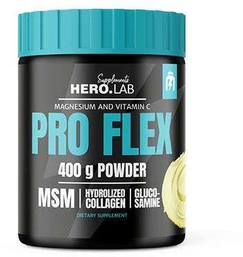 Pro Flex [ 400g ] - HIRO.LAB - Na Stawy Ochrona Regeneracja Stawów MSM Kolagen Glukozamina Zdrowe Stawy