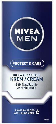 Nivea Men Protect & Care nawilżający krem do twarzy 75 ml