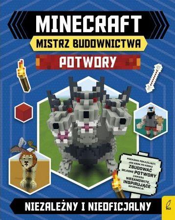 Minecraft Mistrz budownictwa Potwory ZAKŁADKA DO KSIĄŻEK GRATIS DO KAŻDEGO ZAMÓWIENIA
