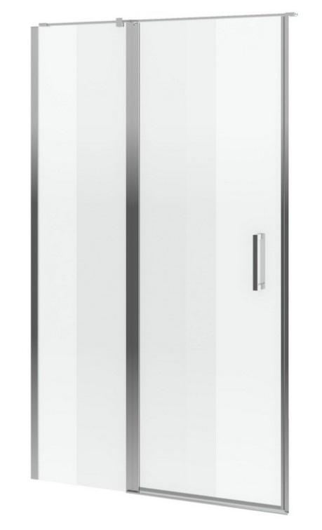 Excellent Mazo drzwi wnękowe wahadłowe 130 cm przejrzyste