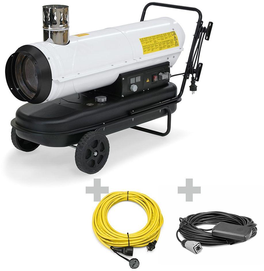 Nagrzewnica olejowa IDE 30 + Przedłużacz Profi + zewnętrzny termostat