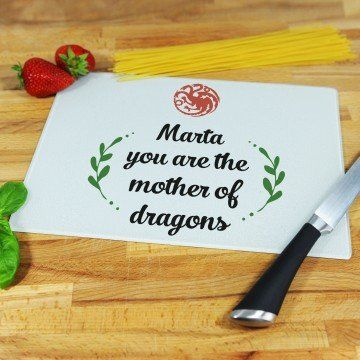 Mother of Dragons - deska do krojenia