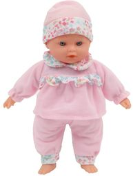 MAMATOY MMA01000 - Mama Mia słodkie odgłosy, lalka funkcyjna różne samochody niemowlęce, 30 cm