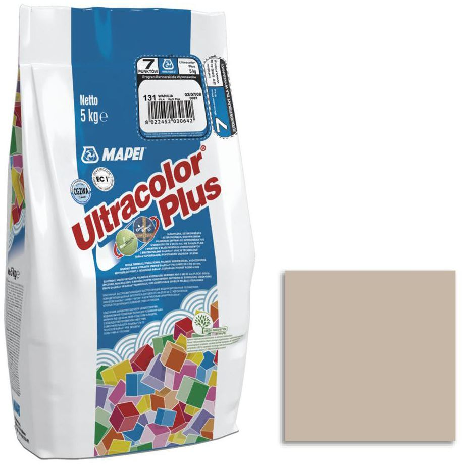 Fuga ULTRACOLOR 132 beżowy 5 kg MAPEI