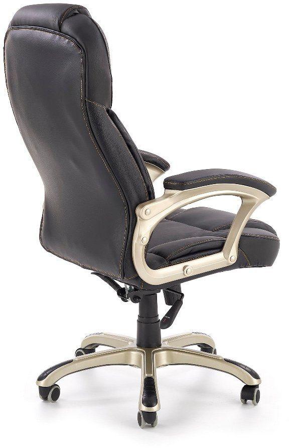 Fotel biurowy DESMOND czarny  Kupuj w Sprawdzonych sklepach