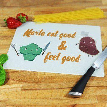 Eat good & feel good - deska do krojenia
