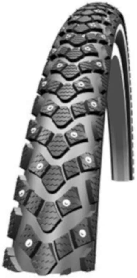 Schwalbe Marathon Winter Plus opona rowerowa dla dorosłych, uniseks, kolor czarny, 61 cm (24 )