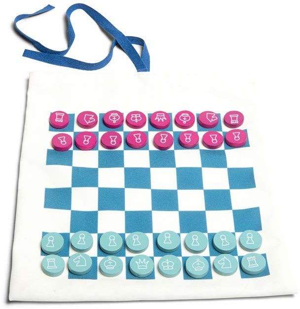BS GA359 gra podróżna damska/szach & Tic Tac Toe gra podróżna, Mix