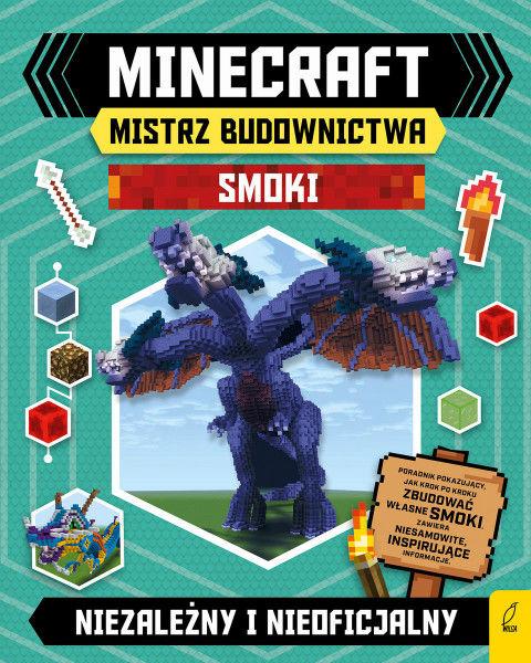 Minecraft Mistrz budownictwa Smoki ZAKŁADKA DO KSIĄŻEK GRATIS DO KAŻDEGO ZAMÓWIENIA