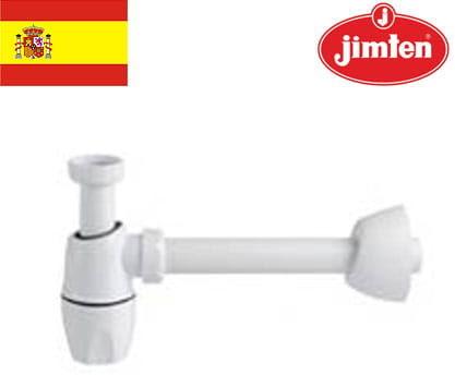 Półsyfon umywalkowy ze zintegrowaną uszczelką