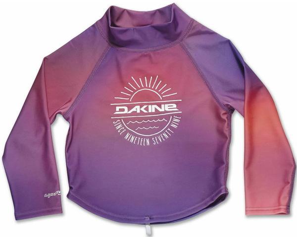 Dakine TODDLER RASHGUARD PINK SUNSET lycra w wodzie - 4T