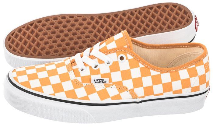Tenisówki Vans Authentic (Checkerboard) Gold Nugget/True White VN0A348A3XV1 (VA325-a)
