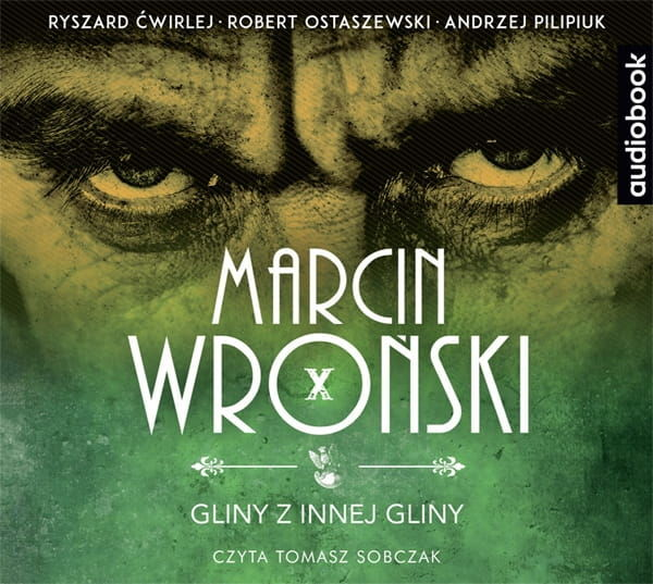 Gliny z innej gliny Marcin Wroński Audiobook CD mp3