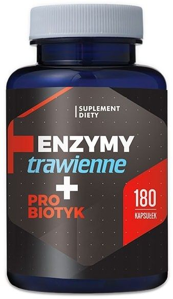 Enzymy trawienne + Probiotyk (180 kaps) Hepatica