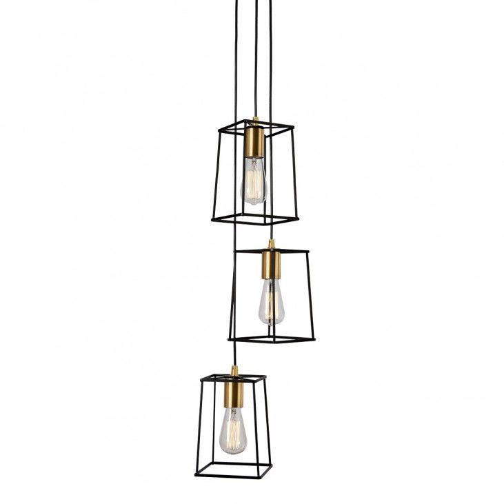 Lampa wisząca Alanis MD-BR16556-D3-B/G Italux