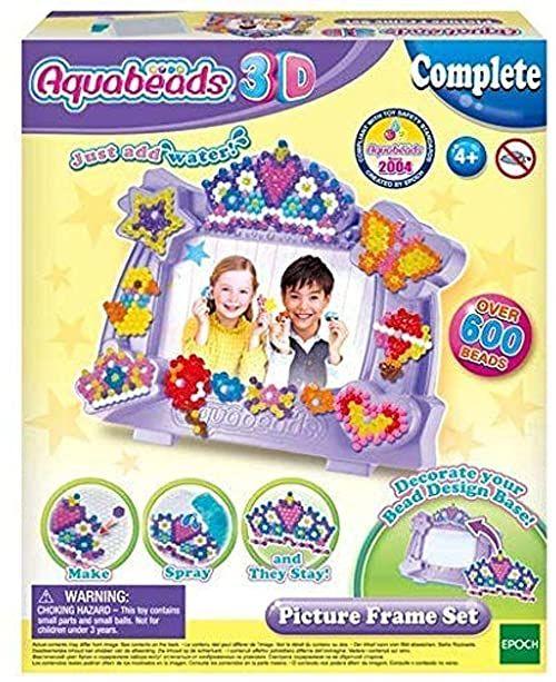Aquabeads 31365 zestaw ramek na zdjęcia 3D