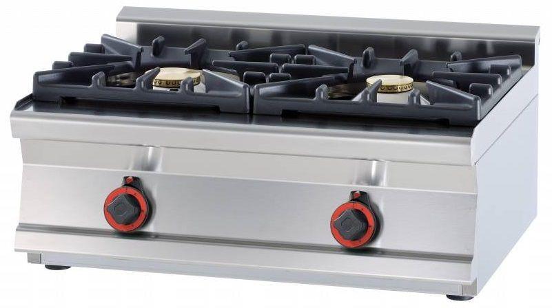 Kuchnia gazowa WOK 1700W 800x600x(H)280mm