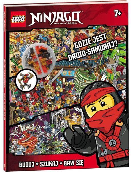 Lego Ninjago Gdzie jest droid samuraj? ZAKŁADKA DO KSIĄŻEK GRATIS DO KAŻDEGO ZAMÓWIENIA