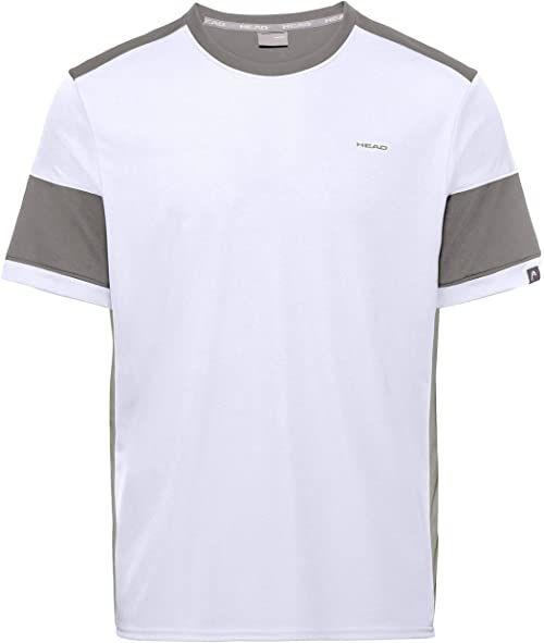 HEAD męska koszulka do siatkówki, biały/szary, mała