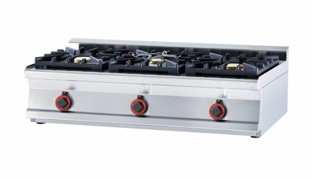 Kuchnia gazowa WOK 2700W 1200x600x(H)280mm