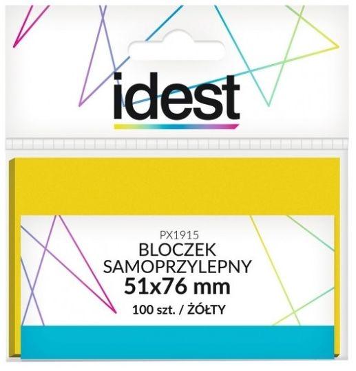 Bloczek samoprzylepny Oficio, 51 x 76 mm, 100 kartek, żółty -  Rabaty  Porady  Hurt  Wyceny   sklep@solokolos.pl   tel.(34)366-72-72